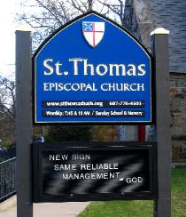 episcopal church signs by montauk